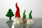 houten kerstmannetje
