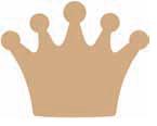 Kroon uit MDF
