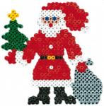 Kerstman-plaatje strijkparels