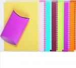 vrolijk gekleurd karton